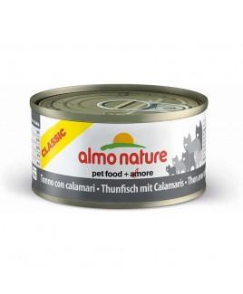 Alimento gatto Almo Nature HFC natural tonno con calamari 70g