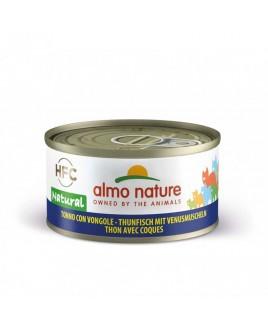 Alimento gatto Almo Nature HFC natural tonno con vongole 70g