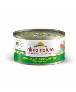 Alimento gatto Almo Nature HFC natural tonno e mais 70g