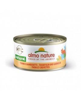 Alimento gatto Almo Nature HFC natural tonno gamberetti 70g