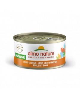Alimento gatto Almo Nature HFC natural tonno pollo 70g