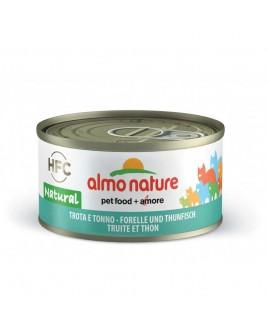 Alimento gatto Almo Nature HFC natural trota e tonno 70g