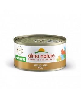 Alimento gatto Almo Nature HFC natural vitello 70g