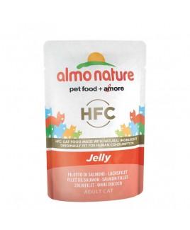 Alimento gatto Almo Nature Jelly salmone 55g