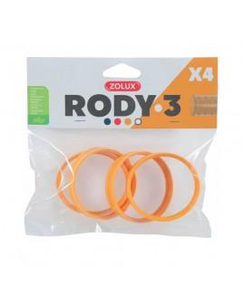 Anelli di connessione per gabbia Rody3 banana Zolux