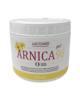 Arnica Gel 96% contro traumi distorsioni, Antinfiammatorio 500ml Lacomed