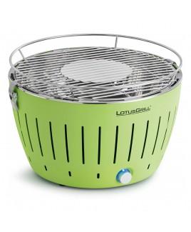 Barbecue portatile a carbonella LotusGrill Verde con USB LGG34UGR