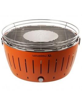 Barbecue portatile a carbonella LotusGrill XL Arancione con USB LGG435UOR