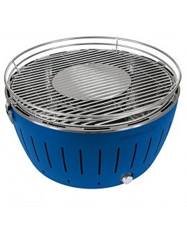 Barbecue portatile a carbonella LotusGrill XL Blu con USB LGG435UBL