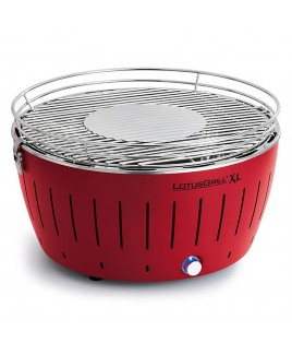 Barbecue portatile a carbonella LotusGrill XL Rosso con USB LGG435URD