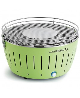 Barbecue portatile a carbonella LotusGrill XL Verde con USB LGG435UGR
