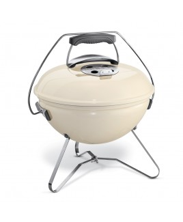 Barbecue Weber Smokey Joe Premium Ø 37 cm bianco avorio
