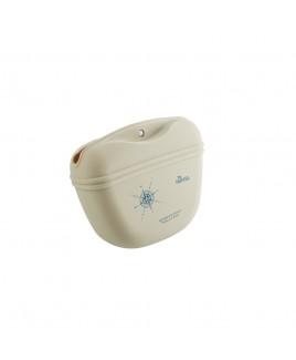 Borsa da cintura in silicone beige Hunter 65133