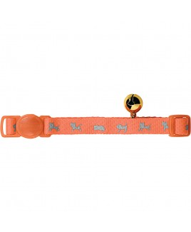 Collare per gatti NEON Arancione Hunter 31032