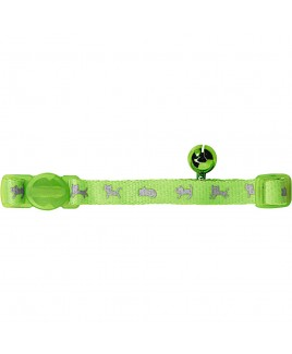 Collare per gatti NEON Verde Hunter 31033