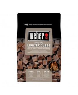 Cubetti accendifuoco naturali Weber confezione 48 pezzi