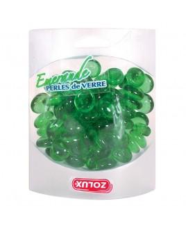 Decorazione per acquario Perle di vetro color smeraldo 442g Zolux 357515