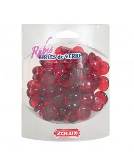 Decorazione per acquario Perle di vetro Rubino 442g Zolux 357519