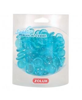 Decorazione per acquario Perle di vetro Zaffiro 442g Zolux 357511