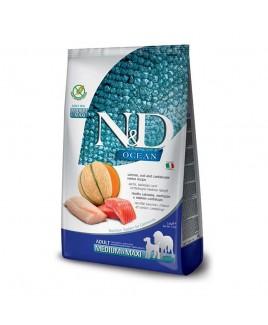 Alimento secco per cani Farmina Natural e Delicius Ocean Adult Medium e maxi Salmone Merluzzo e melone 2,5kg