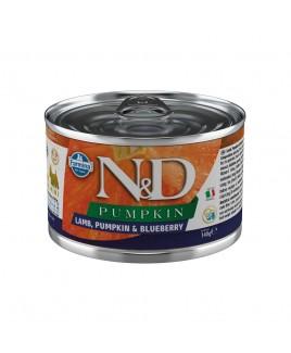 Alimento umido per cani Farmina Natural e Delicius Pumpkin Adult mini Agnello mirtillo e zucca 140g