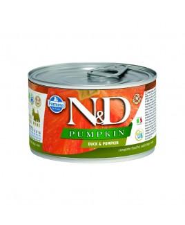 Alimento umido per cani Farmina Natural e Delicius Pumpkin Adult mini Anatra e zucca 140g