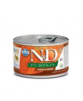 Alimento umido per cani Farmina Natural e Delicius Pumpkin Adult mini Cervo e zucca 140g