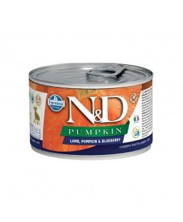 Alimento umido per cani Farmina Natural e Delicius Pumpkin Puppy mini agnello mirtillo e zucca 140g