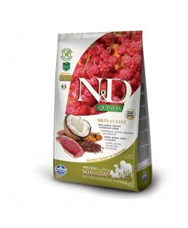 Alimento secco per cani Farmina Natural e Delicius Quinoa Adult All Breeds Skin e Coat Anatra 2,5kg