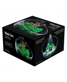 Florarium WABI SET Decorative Aquarium AGP
