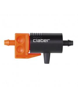 Gocciolatore in linea da 0-6 l/h 10pz Rainjet Claber
