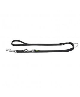 Guinzaglio da passeggio regolabile Extra Long 20 300 cm Nero Hunter 64961