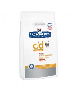 Alimento per gatto Hill's Prescription diet cd multiCare Feline Adult Urinary Trach Health Chicken 400g