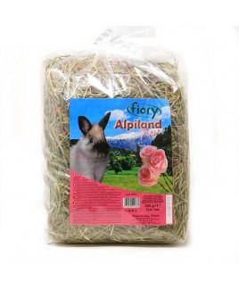Fieno Alpiland con Petali di Rosa Fiory (500 g)