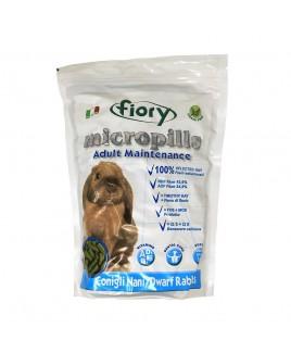 Mangime per conigli nani in pellet Fiory Micropills Adulti Maintenance 850g