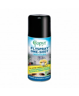 Insetticida zanzaricida Flyspray Oneshot 150 ml Copyr 3400340