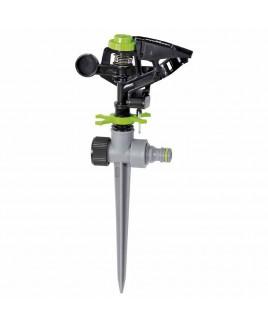 Irrigatore pulsante plastica 360 ° o a settore Verdemax V009542