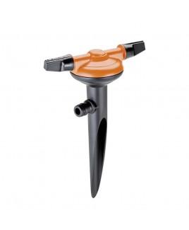 Irrigatore statico a due braccia rotanti Spray jet Claber 8663