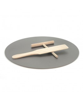 Kit di cottura per Crepes 35,5cm Charcoal Companion CC3133
