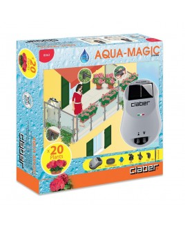 Kit microirrigazione Aqua magic System Claber Acqua magic