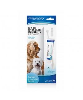 Kit per la pulizia dei denti cane 70g Zolux