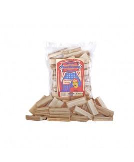 Legna da affumicatura Chunks Hickory Axtschlag 1,5kg