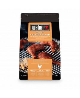 Legnetti affumicatori Chips per pollame Poultry Smoking Blend Weber 17833 0,7kg