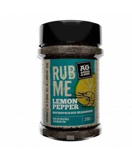 Rub me Seafood lemon pepper 210g Angus and Oink