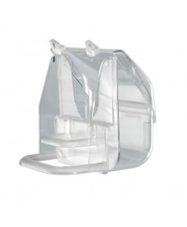 Mangiatoia in plastica trasparente PRETTY 4522