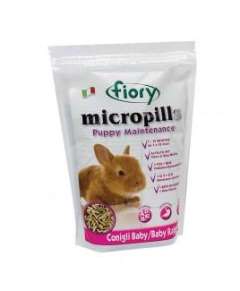 Mangime per conigli nani in pellet Fiory Micropills Puppy Maintenance 850 gr
