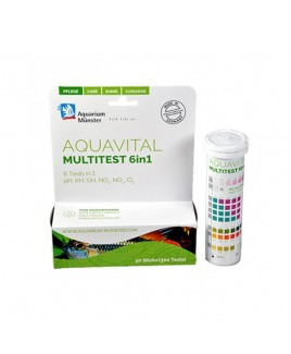 Multitest Aquavital Multistick di Aquarium Munster 50 Sticks