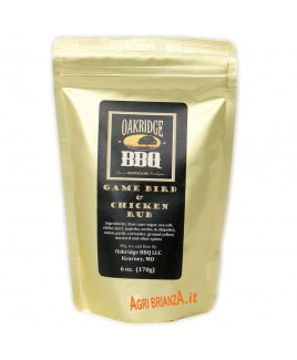 RUB OAKRIDGE GAME BIRD CHICKEN 170G
