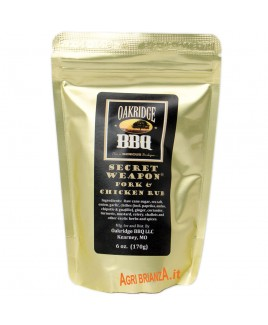 RUB OAKRIDGE SECRET WEAPON PORK CHICKEN 170G