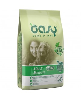 Oasy Dry Dog ADULT Medium pollo 12 Kg